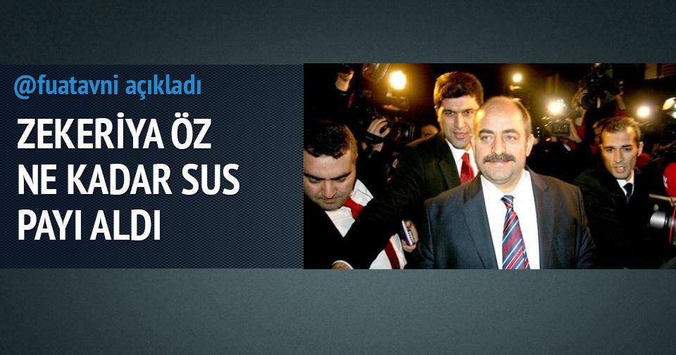 Paralel yapı Zekeriya Öz'e kaç para sus payı verdi? Fuat Avni açıkladı