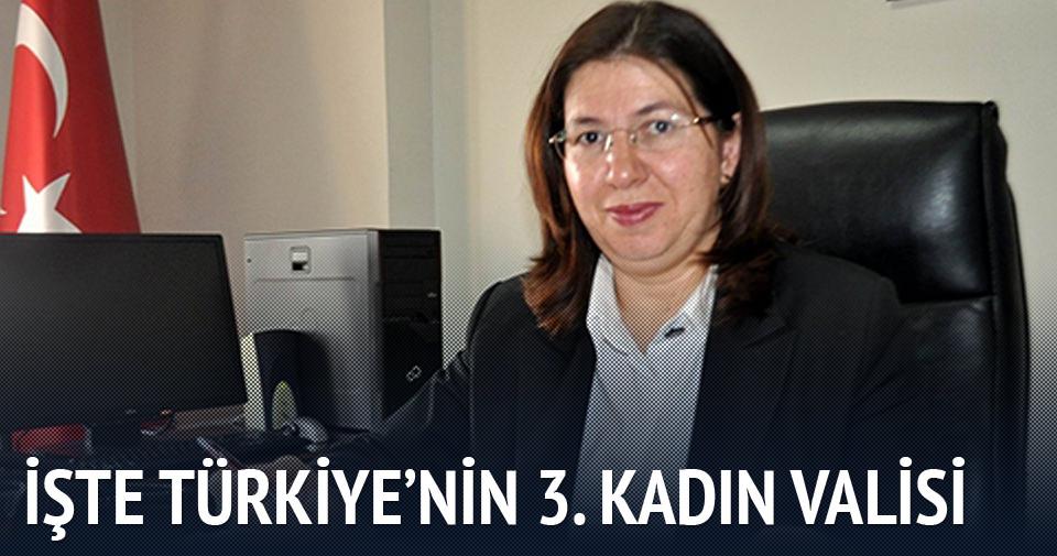 İşte Türkiye'nin 3. kadın valisi