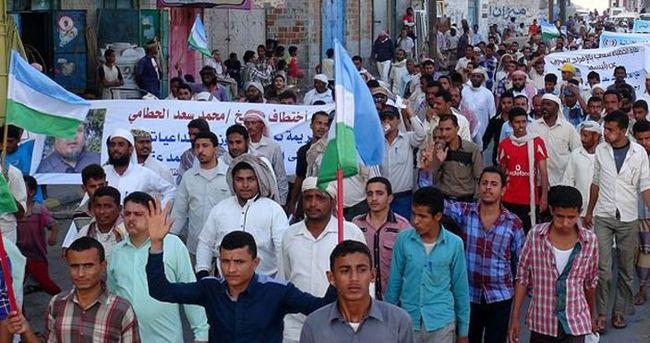 Yemen'de Husi protestosu