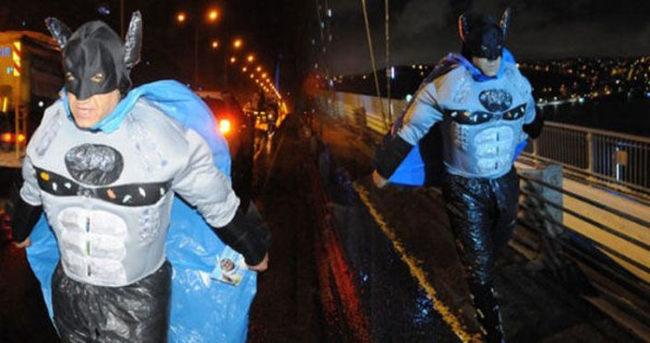 Aydın Aydın'dan köprüde Batman'li tanıtım