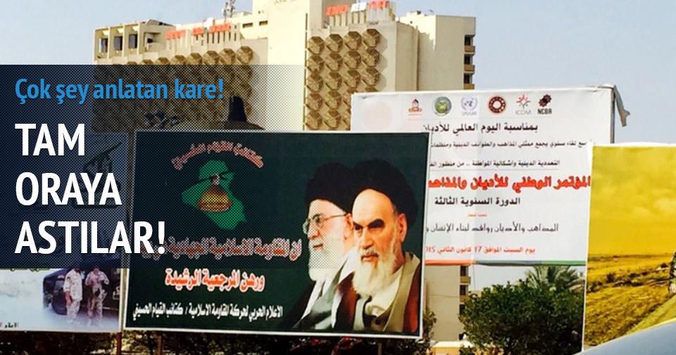 Saddam'ın yerinde Humeyni