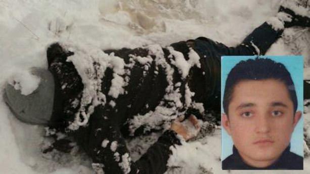 İstanbul'da karlar içinde ceset bulundu!