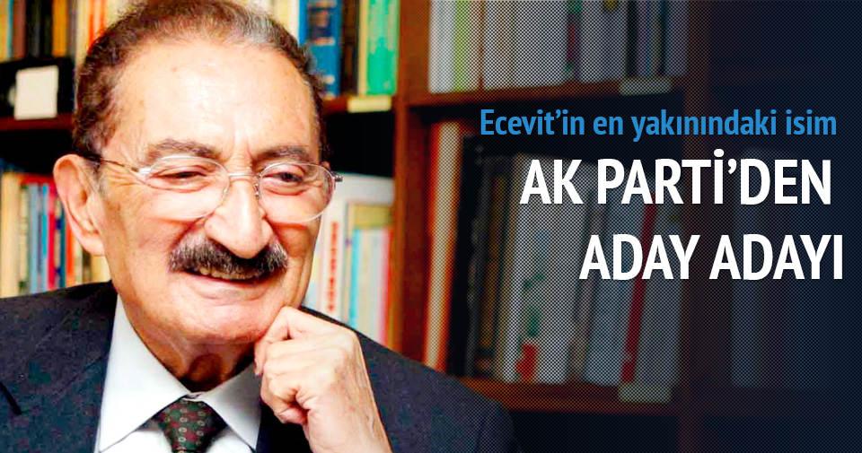 Ecevit'in koruması AK Parti'den aday adayı oldu