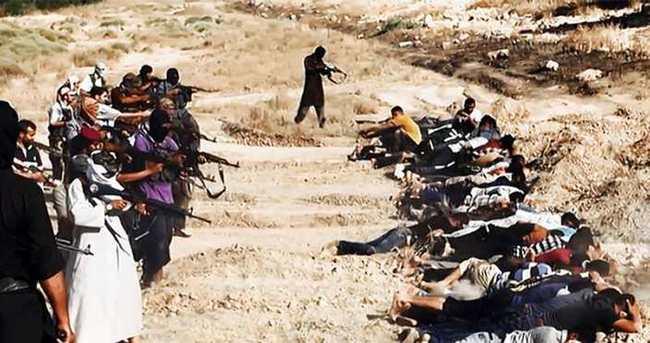 IŞİD katliam yaptı! iddiası