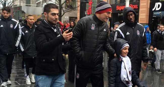 Liverpool'da Beşiktaş coşkusu