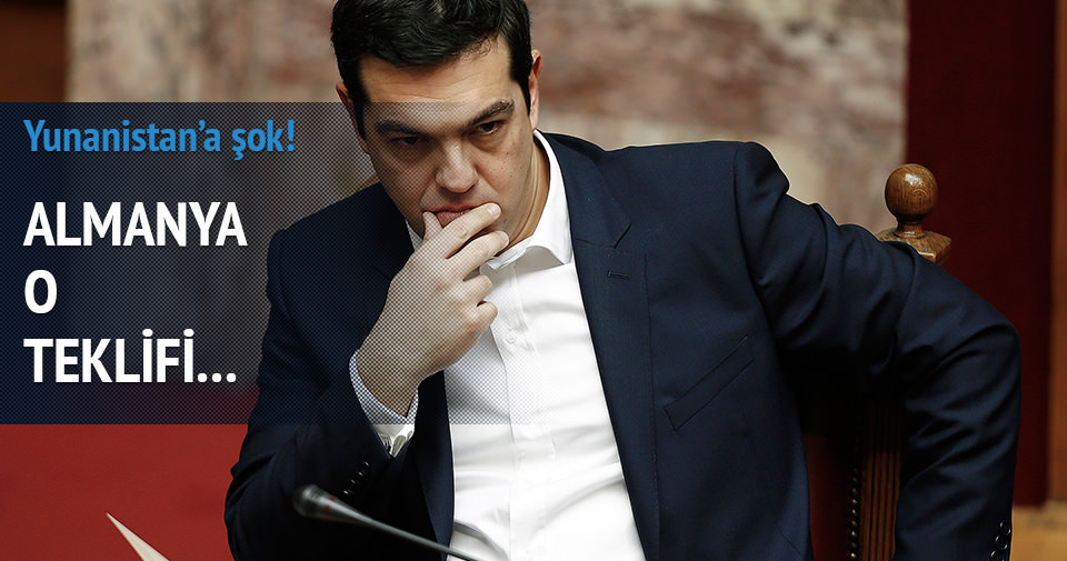 Almanya Yunanistan'ın teklifini reddetti