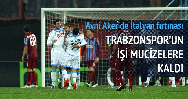 Trabzonspor'un işi mucizelere kaldı