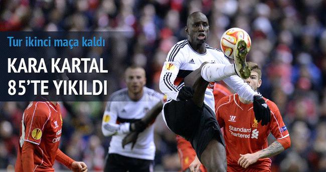 Beşiktaş turu ikinci maça bıraktı
