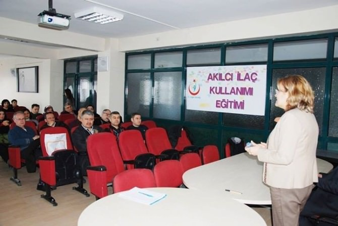 Afyonkarahisar'da Akılcı İlaç Kullanımı Ulusal Eylem Planı Etkinlikleri