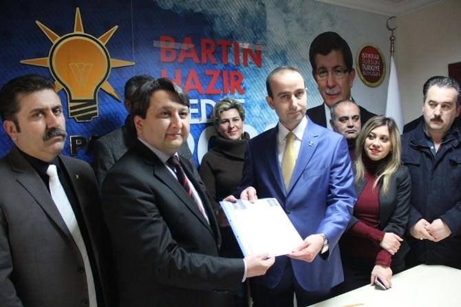 Köse, AK Parti'den Adaylık Başvurusu Yaptı