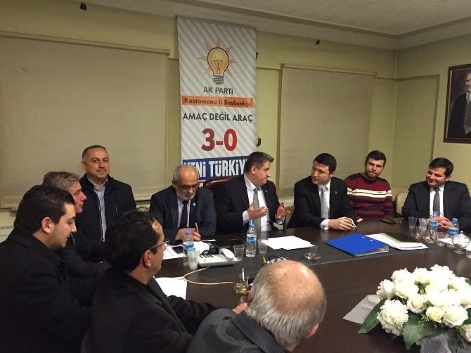AK Parti Kastamonu Milletvekili Aday Adayı Zafer Nalbantoğlu Ziyaretlere Başladı