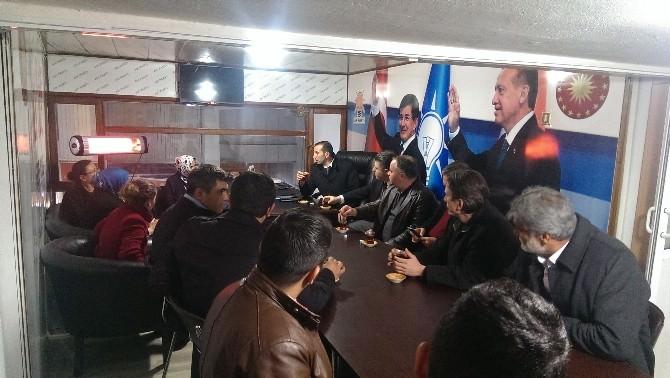 AK Parti Aday Adayı Özkan Alaşehir'de