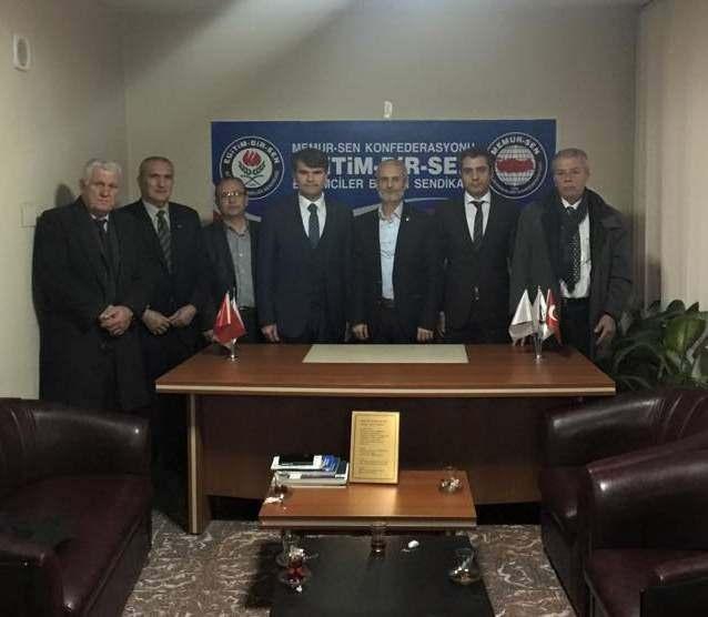 AK Partili Bozoğlu'ndan Oda Ve Dernek Ziyaretleri