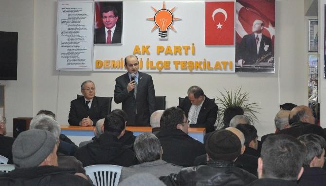 Aday Adayı Sofuoğlu'ndan Demirci Ve Köprübaşı Teşkilatına Ziyaret