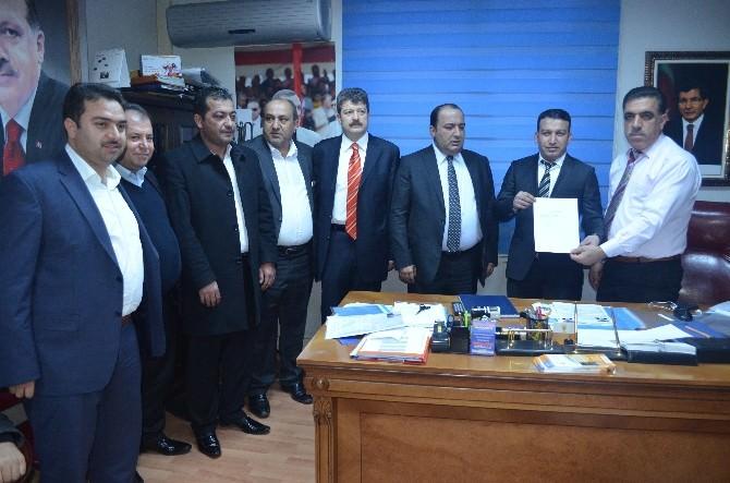 Yontürk AK Parti Milletvekili Aday Adaylığı İçin Başvurusunu Yaptı
