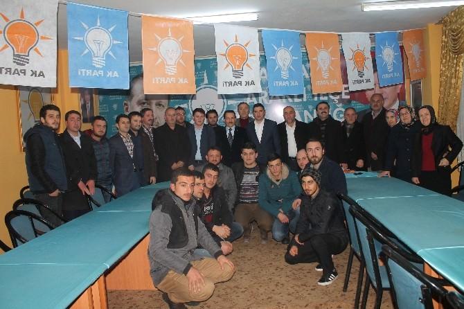 AK Parti Trabzon Milletvekili Aday Adayı Mehmet Atalay Seçim Çalışmalarını Sürdürüyor