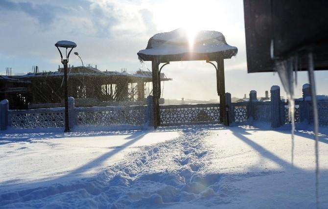 Aksaray'da Kar Yağışı