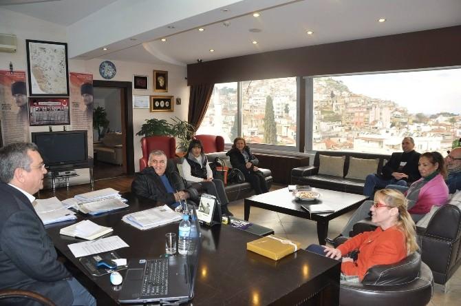 Anadolu Partisi'nden Başkan Kayalı'ya Ziyaret