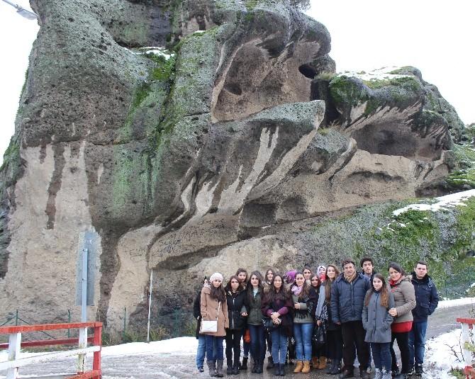 Avusturya'da Yaşayan Türk Öğrenciler Tekkeköy'ü Gezdiler