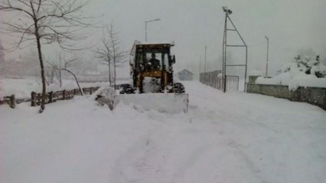Bartın'da 77 Köy Yolu Ulaşıma Kapalı