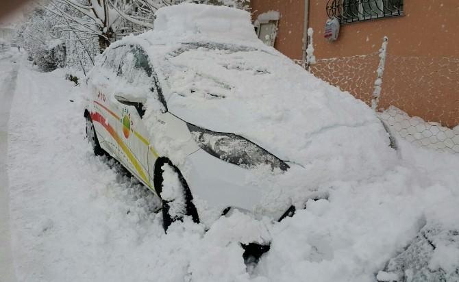 Bursagaz'ın Saha Faaliyetlerine Kar Engeli