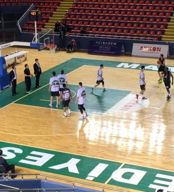 Büyükşehir Basket Takımı Ankara DSİ'yi Mağlup Etti