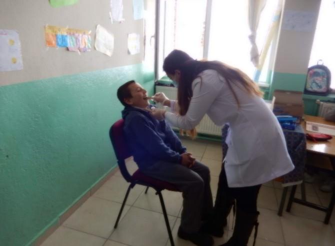 Köy Okullarında Diş Taraması