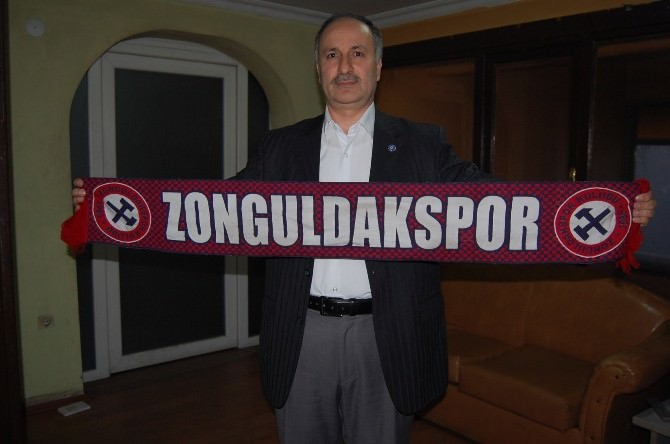 Tunç, Zonguldakspora Destek Çağrısında Bulundu