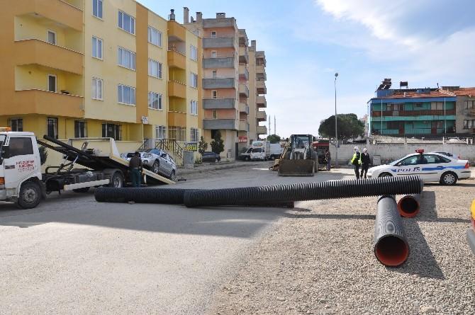 Edremit'te Cadde Ve Sokaklarda Yeniden Düzenleme Çalışmaları Başlıyor