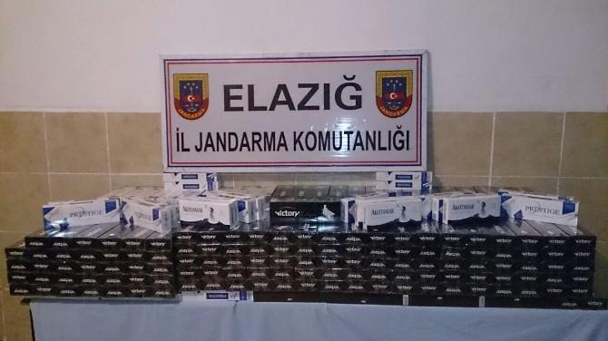 Jandarma 3 Araçta 6 Bin 450 Paket Kaçak Sigara Ele Geçirdi