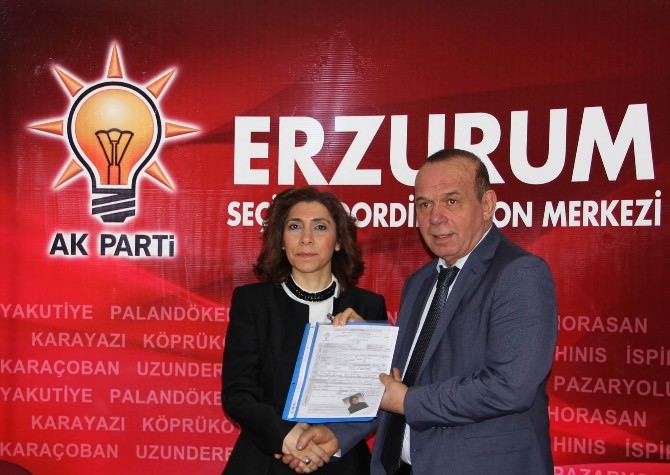 Erzurum Büyükşehir Belediyesi Meclis Üyesi Serap Ağar, Aday Adayı Oldu