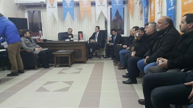 Dr. Numan Çabuk, Seçim Çalışmalarına Gölyaka'dan Başladı