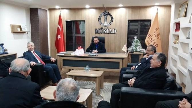 Milletvekili Aday Adayı Sönmezoğlu Ziyaretlere Başladı