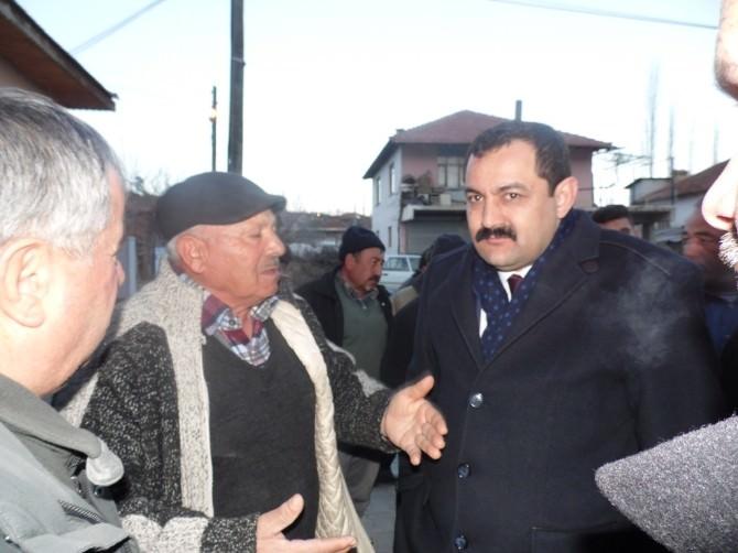 AK Parti İl Başkanı Sümer, Deprem Bölgesinde