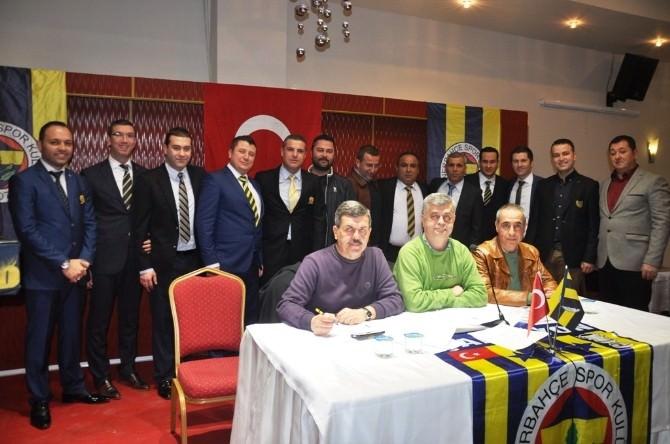 Ödemiş Fenerbahçeliler Derneğinin Yeni Başkanı Levent Ergin