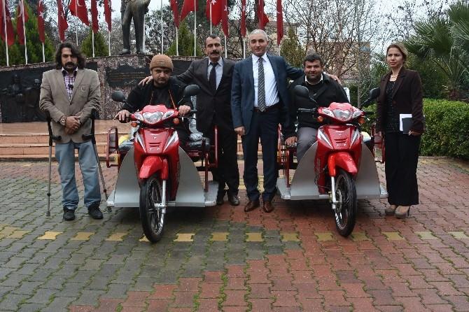 Kaymakam Baştürk'ten, Engelli Motorlu Araç