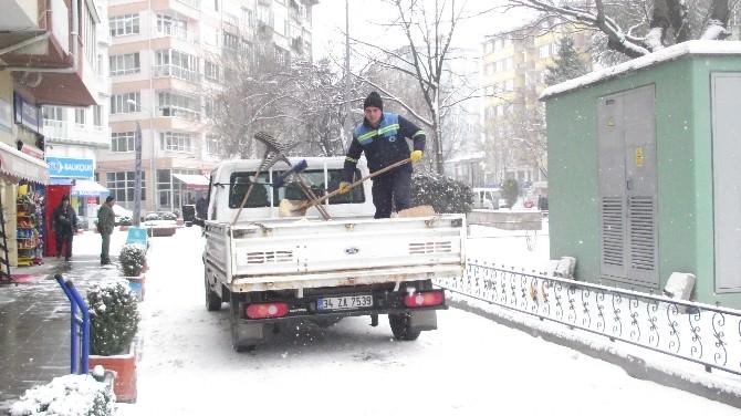 Odunpazarı Belediyesi'nin Karla Mücadele Çalışmaları