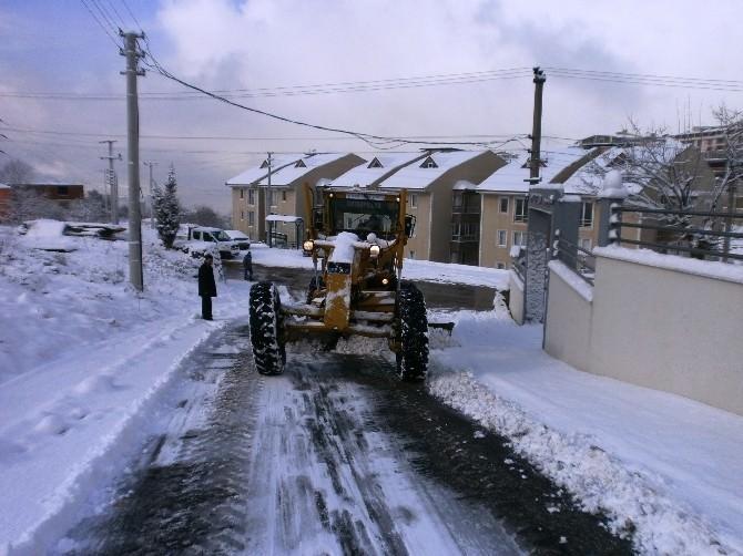 İzmit Belediyesi'nde Kar Seferberliği