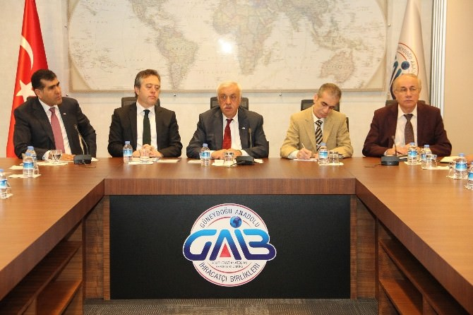 Ikyb Milletvekillerinden Gaib'e Ziyaret
