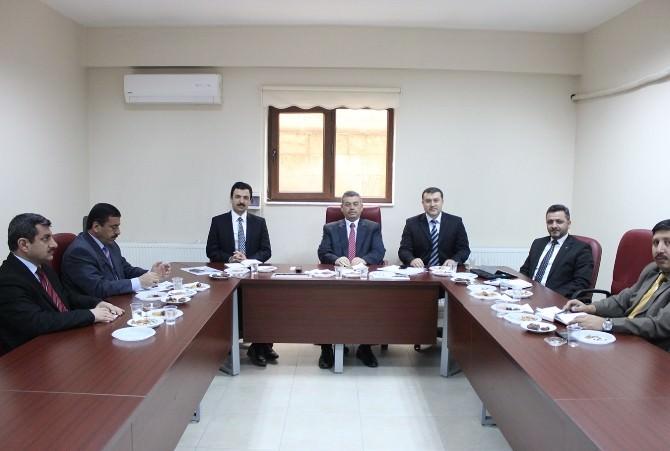 Mardin'de İlçe Müftüleri Toplantısı Yapıldı