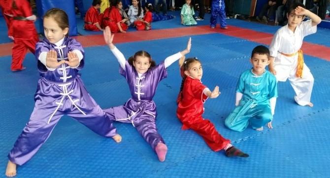 Gazili Miniklerden Wushu İl Şampiyonu Oldu