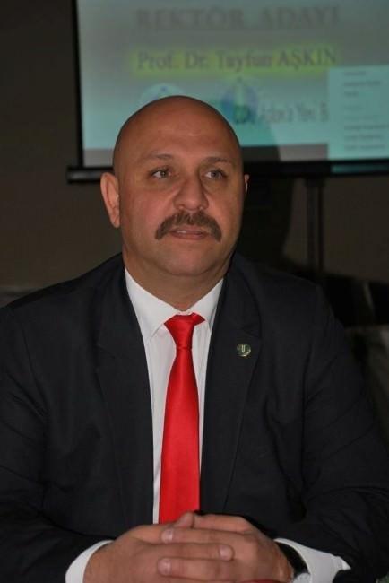 Prof. Dr. Tayfun Aşkın, ODÜ Rektörlüğü'ne Aday