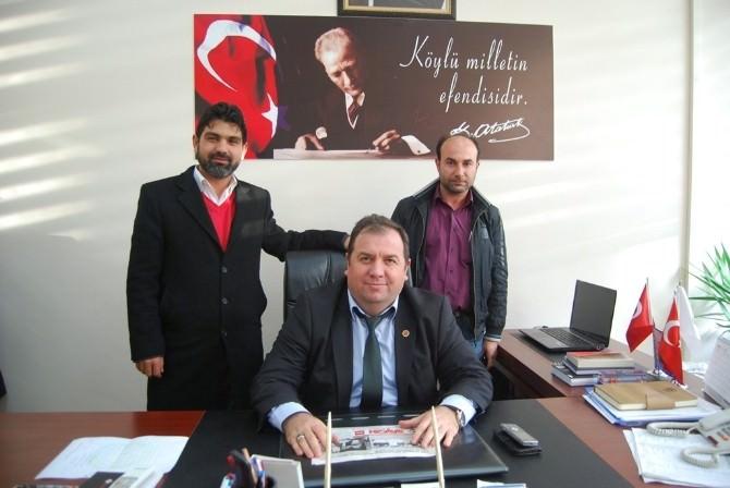 Sağlamtaşspor Başkanından Malkara Belediyespor'a Ziyaret