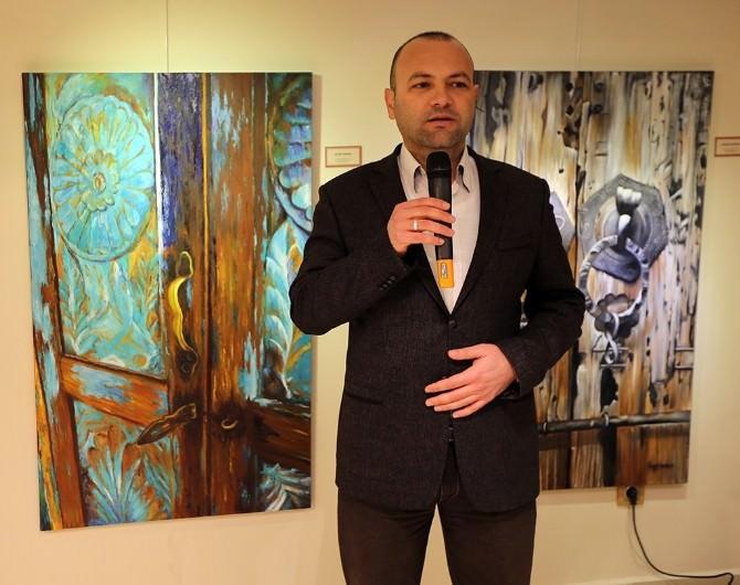 Samek'te 'Kapıların Tarihi' Resim Sergisinin Açılış Töreni Gerçekleştirildi