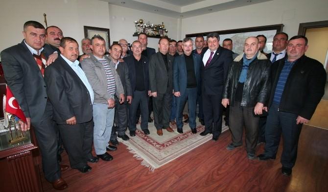 Saruhanlı Ziraat Odası Başkanı'ndan Ziyaret