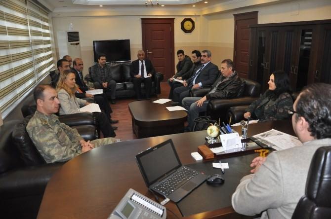 Silopi'de İlçe Trafik Komisyonu Toplantısı Yapıldı