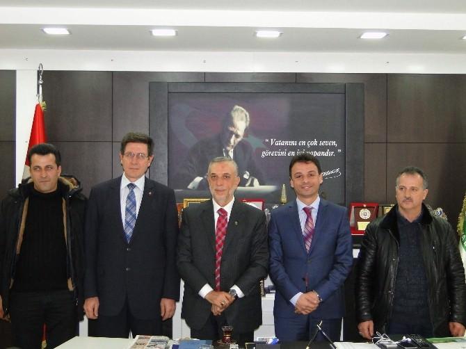 AK Partı Trabzon Mılletvekılı Aday Adayı Asım Aykan Teşkılatlarla Buluşuyor