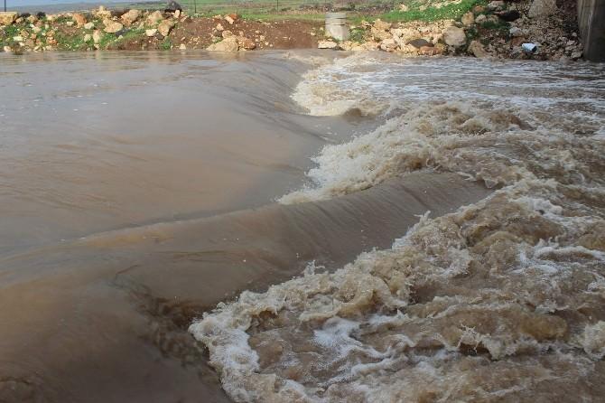 Üç Gündür Aralıksız Yağan Yağmur Yavuzelinde Hayatı Olumsuz Etkiliyor