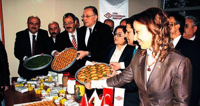 Türk baklavasına standart geldi