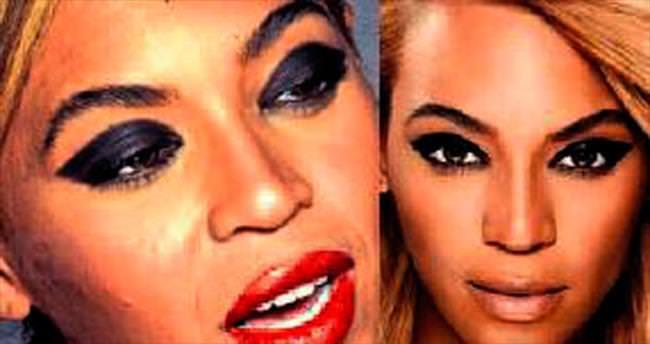 İşte Beyonce'un gerçek yüzü...